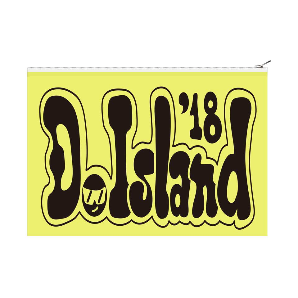 D.Island 2018 ビニールポーチ